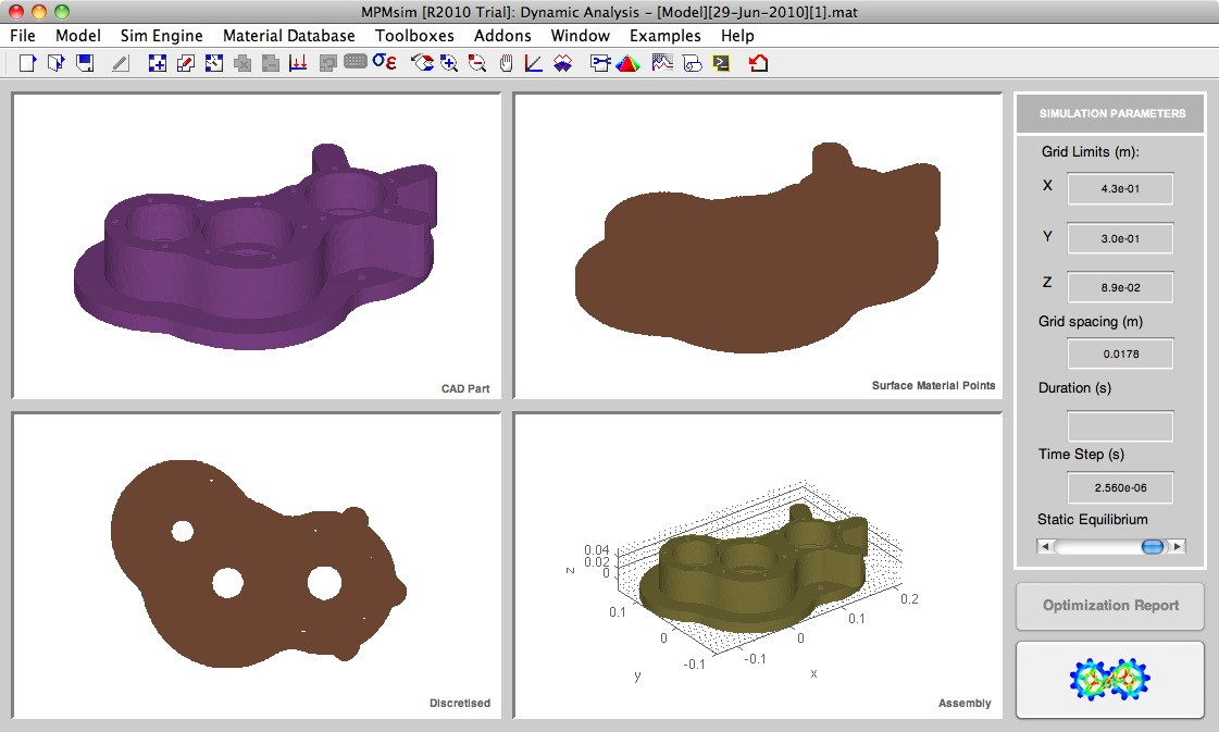 Importing CAD to Material Points